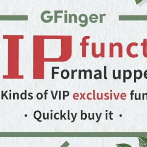 The GFinger VIP is online!