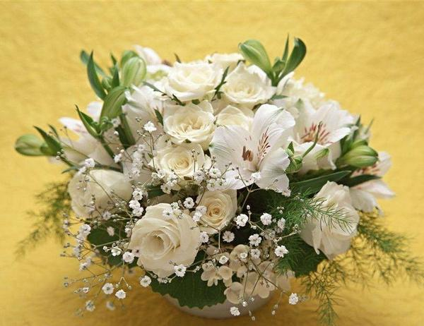 插花五大基本花型与九种常见组合
